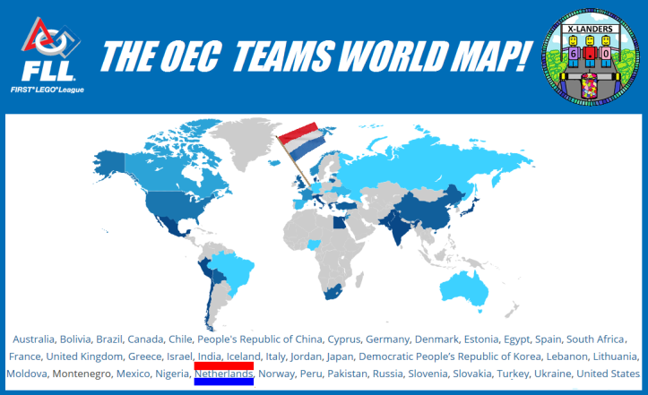 OEC TEAMS MAP